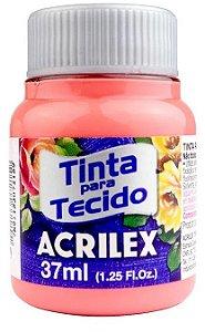 TINTA PARA TECIDO ACRILEX FLAMINGO 37 ML