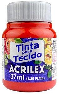 TINTA PARA TECIDO ACRILEX GOIABA QUEIMADA 37 ML