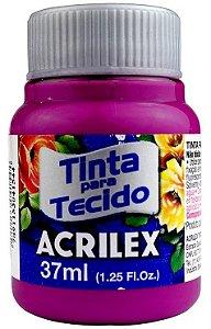 TINTA PARA TECIDO ACRILEX MAGENTA 37 ML