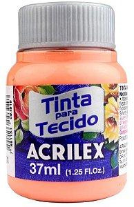 TINTA PARA TECIDO ACRILEX PAPAYA 37 ML