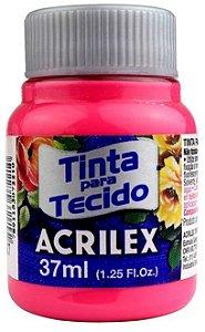 TINTA PARA TECIDO ACRILEX PINK 37 ML