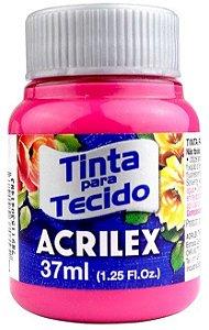 TINTA PARA TECIDO ACRILEX ROSA 37 ML