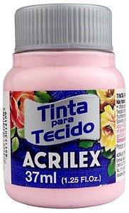 TINTA PARA TECIDO ACRILEX ROSA BEBE 37 ML