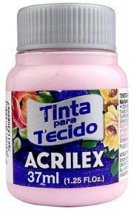 TINTA PARA TECIDO ACRILEX ROSA INGLESA 37 ML