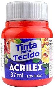 TINTA PARA TECIDO ACRILEX TANGERINA 37 ML