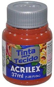 TINTA PARA TECIDO ACRILEX TELHA 37 ML