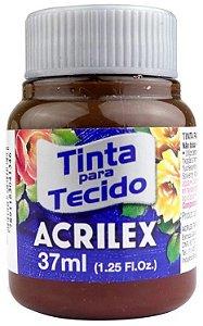 TINTA PARA TECIDO ACRILEX TERRA QUEIMADA 37 ML