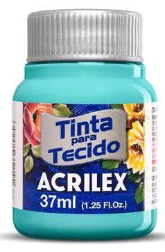 TINTA PARA TECIDO ACRILEX TURQUESA 37 ML