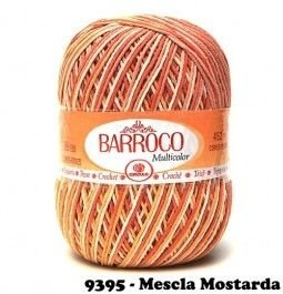 Barbante Barroco Multicolor 226 mts 200 g - Cor 9395