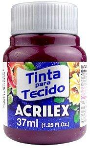 TINTA PARA TECIDO ACRILEX UVA 37 ML