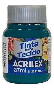 TINTA PARA TECIDO ACRILEX VERDE BANDEIRA 37 ML