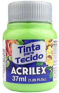 TINTA PARA TECIDO ACRILEX VERDE KIWI 37 ML