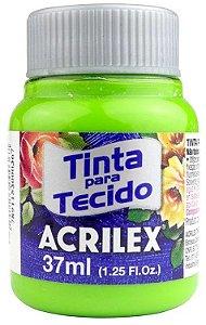 TINTA PARA TECIDO ACRILEX VERDE MAÇA 37 ML