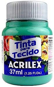TINTA PARA TECIDO ACRILEX VERDE MAR 37 ML