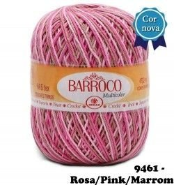 Barbante Barroco Multicolor 226 mts 200 g - Cor 9461
