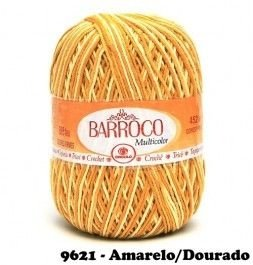Barbante Barroco Multicolor 226 mts 200 g - Cor 9621