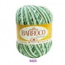 Barbante Barroco Multicolor 226 mts 200 g - Cor 9425