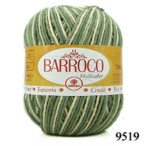 Barbante Barroco Multicolor 226 mts 200 g - Cor 9519
