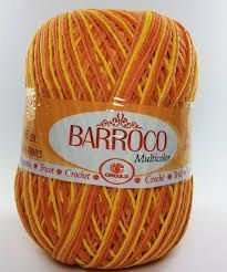Barbante Barroco Multicolor 226 mts 200 g - Cor 9619