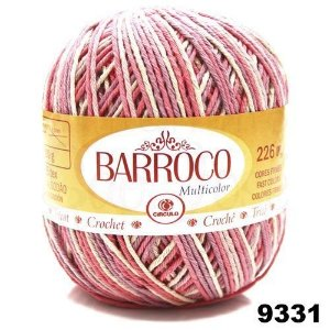 Barbante Barroco Multicolor 226 mts 200 g - Cor 9331