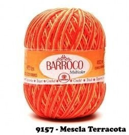 Barbante Barroco Multicolor 226 mts 200 g - Cor 9157