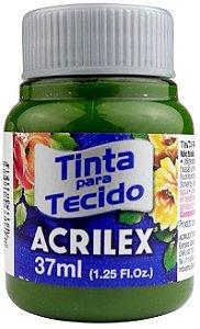 TINTA PARA TECIDO ACRILEX VERDE OLIVA 37 ML