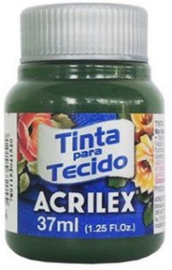 TINTA PARA TECIDO ACRILEX VERDE PINHEIRO 37 ML
