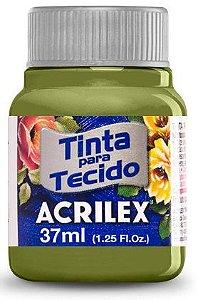 TINTA PARA TECIDO ACRILEX VERDE PISTACHE 37 ML