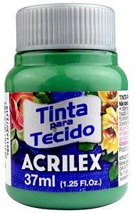 TINTA PARA TECIDO ACRILEX VERDE SECO 37 ML