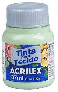 TINTA PARA TECIDO ACRILEX VERDE SOFT 37 ML