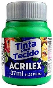 TINTA PARA TECIDO ACRILEX VERDE VERONESE 37 ML