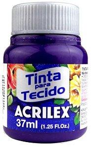 TINTA PARA TECIDO ACRILEX VIOLETA 37 ML
