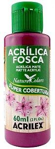 TINTA ACRILICA FOSCA AMEIXA NAT. COLORS 60 ML ACRILEX