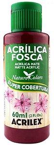 TINTA ACRILICA FOSCA ARANDANO NAT. COLORS 60 ML ACRILEX