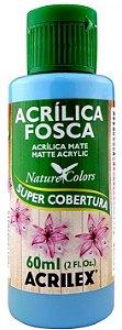 TINTA ACRILICA FOSCA AZUL CELESTE NAT. COLORS 60 ML ACRILEX