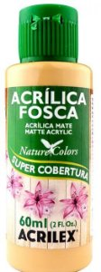 TINTA ACRILICA FOSCA CAMURÇA QUEIM NAT. COLORS 60 ML ACRILEX