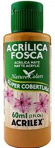 TINTA ACRILICA FOSCA CARAMELO NAT. COLORS 60 ML ACRILEX