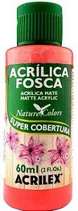 TINTA ACRILICA FOSCA CORAL NAT. COLORS 60 ML ACRILEX