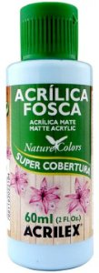 TINTA ACRILICA FOSCA HORTENSIA NAT. COLORS 60 ML ACRILEX