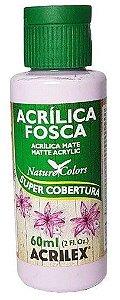 TINTA ACRILICA FOSCA LILAS BEBE NAT. COLORS 60 ML ACRILEX
