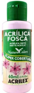 TINTA ACRILICA FOSCA LILÁS NAT. COLORS 60 ML ACRILEX