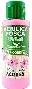 TINTA ACRILICA FOSCA PINK NAT. COLORS 60 ML ACRILEX