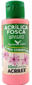 TINTA ACRILICA FOSCA ROSA ANTIGO NAT. COLORS 60 ML ACRILEX