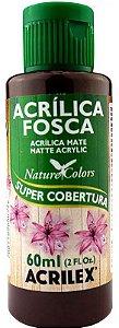TINTA ACRILICA FOSCA RUSTICO NAT. COLORS 60 ML ACRILEX