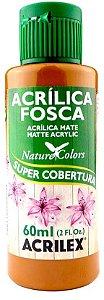 TINTA ACRILICA FOSCA SIENA NATURAL FUME 60 ML ACRILEX