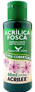 TINTA ACRILICA FOSCA VERDE ESMERAL NAT. COLORS 60 ML ACRILEX