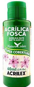TINTA ACRILICA FOSCA VERDE MUSGO NAT. COLORS 60 ML ACRILEX