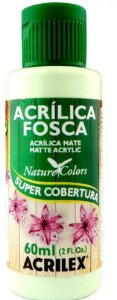 TINTA ACRILICA FOSCA VERDE PRIMAVE NAT. COLORS 60 ML ACRILEX