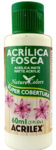 TINTA ACRILICA FOSCA VERDE SOFT NAT. COLORS 60 ML ACRILEX