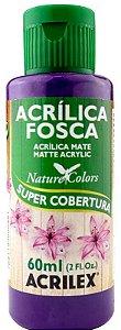 TINTA ACRILICA FOSCA VIOLETA ESCUR NAT. COLORS 60 ML ACRILEX